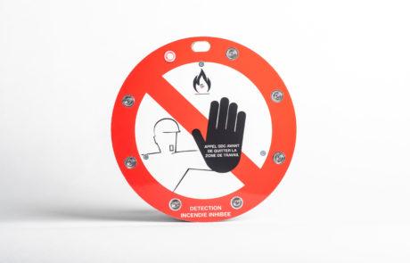 Signalisation_Active_Panneau_Intelligent_Sur_Mesure_Vienne_Lyon_Panneau_Detection_Incendie_Inhibee